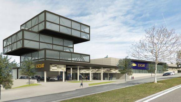 El nou hipermercat Esclat obrirà les portes a finals d'any a Sant Cugat