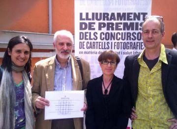 L'Escola d'Art i Disseny, guardonada pel departament de Treball de la Generalitat