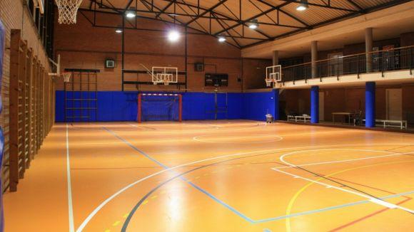 Les obres del gimnàs de l'escola Catalunya ja estan enllestides