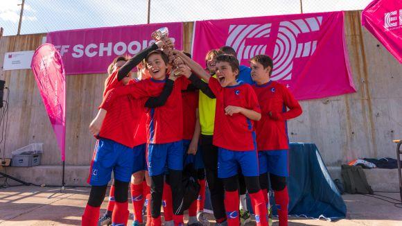 L'escola Europa ha guanyat l'EF School Cup Barcelona / Font: Marisol De la Orden