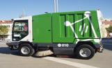 Imatge de la nova màquina escombradora dels districtes