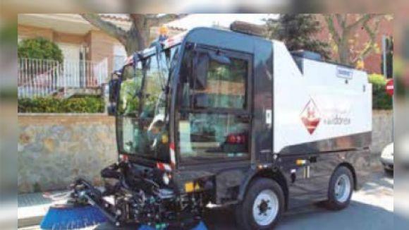 El servei de neteja de Valldoreix disposa d'una nova escombradora