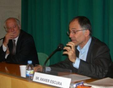 Escura explica les heretgies medievals a l'Arxiu Nacional de Catalunya