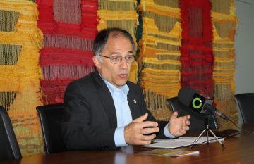 Tinent d'alcalde de Cultura en funcions, Xavier Escura, en una imatge d'arxiu