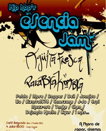 El Hip Hop's Esencia Jam reunirà diversos joves rapers santcugatencs