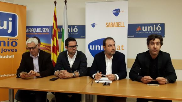 Xavier Tizón, nou president d'UDC al Vallès Occidental amb Xavier Cortés com a conseller nacional