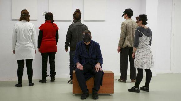Assaig del grup de teatre / Foto: Espai Lleure