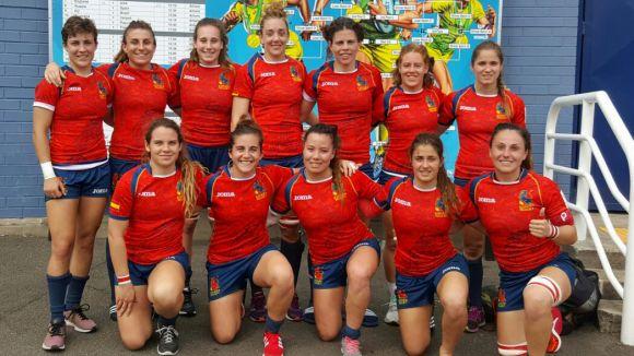 La plantilla de la selecció espanyola de rugbi a 7 / Font: Federació Espanyola Rugbi