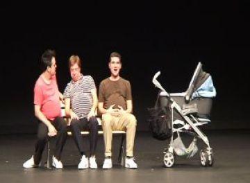 Un moment de l'espectacle al Teatre-Auditori