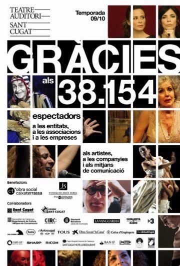 L'ocupació dels espectacles del Teatre-Auditori creix fins al 82%