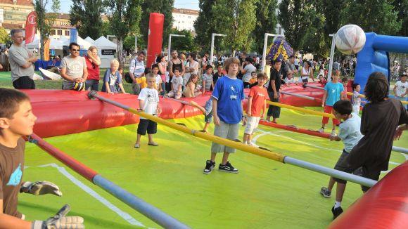 L'Esport al Carrer viurà el penúltim dia de Festa Major al parc de Can Vernet