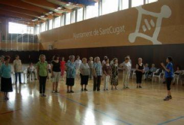 La festa de cloenda de la gent gran reuneix 116 participants