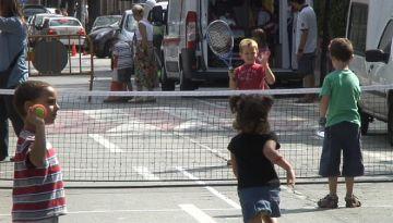 L'Esport al carrer omple la rambla de Valldoreix