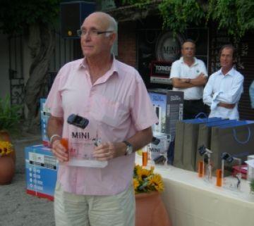 Andrés Gimeno, campió del torneig de golf del Club Mini Sant Cugat