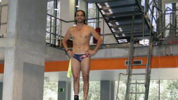 El saltador colombià Orlando Duque, del Moll de la Fusta al CAR