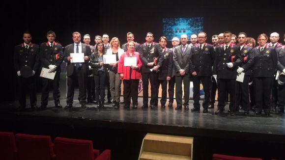 Els Mossos premien el servei d'Atenció a la Dona de l'Ajuntament