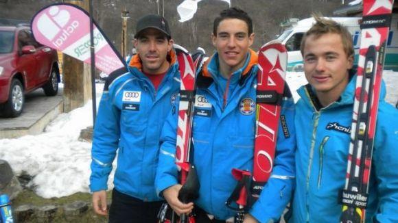 Pol Carreras inicia la temporada entre l'elit de l'esquí estatal