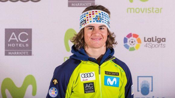 L'esquiador Albert Ortega / Font: Enpistas.com