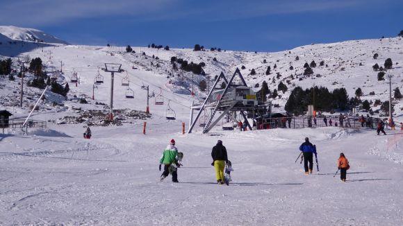 El Muntanyenc obre la nova temporada de l'Escola d'esquí