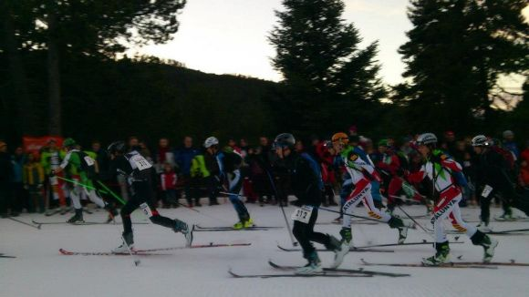 Lambea i Portillo pugen al podi al Campionat d'Espanya d'esquí de muntanya