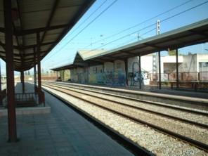 L'estació de Renfe situada a Coll Favà.