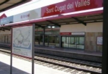 Les obres de millora a Renfe dificulten els desplaçaments dels santcugatencs a Barcelona