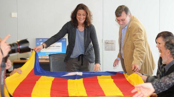 Sant Cugat ajudarà la Generalitat en l'organització de la consulta del 9N