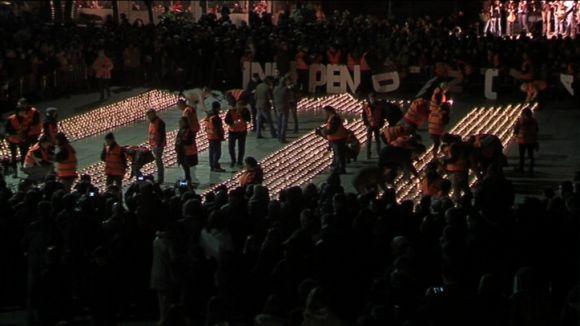 El clam per la independència s'encén a Sant Cugat