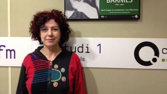 Esther Rodríguez (SOM) detalla les característiques del programa 'Enfoca't' a Cugat.cat
