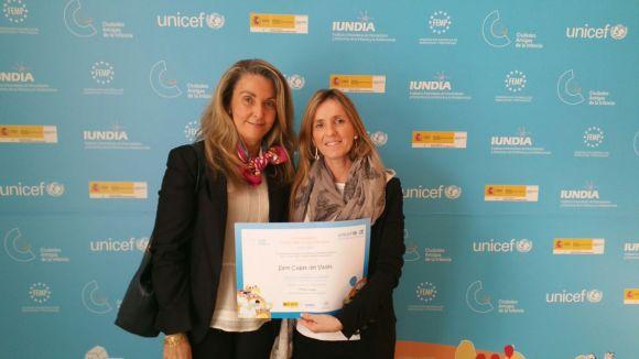 El premi s'ha concedit aquest dimarts / Foto: Premsa Ajuntament Sant Cugat