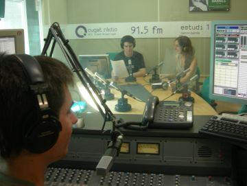 Cugat ràdio es manté oberta a l'agost amb un nou magazín diari en directe
