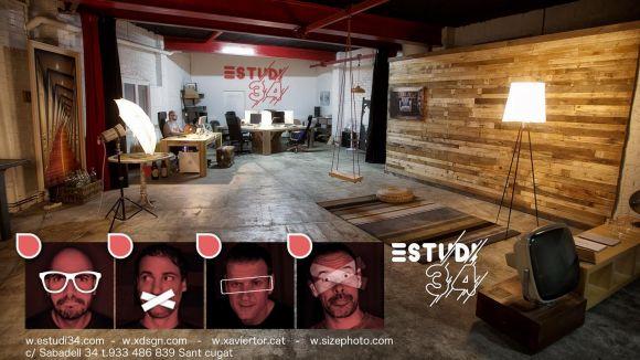 L'Estudi 34 s'ubica al carrer de Sabadell