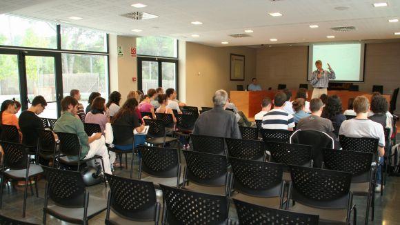 Alumnes de l'ETSAV definiran la futura plaça de la Centralitat de Valldoreix