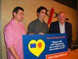 La plataforma considera que la Constitució Europea no garanteix els drets de la llengua catalana