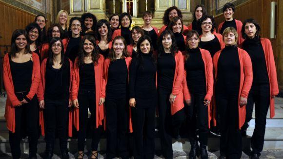El tercer concert de música sacra del Monestir, a càrrec del Cor de noies Exaudio