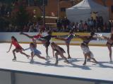 L'Escola de Patinatge del FCB ha fet una exhibició de dansa sobre patins