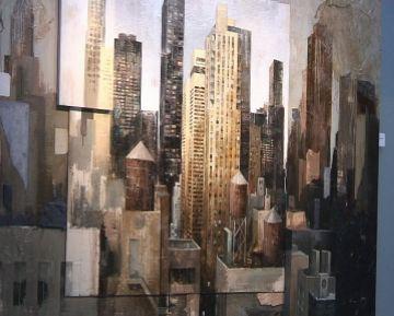 La Galeria acull una exposició de Martí Bofarull que proposa un recorregut per Nova York