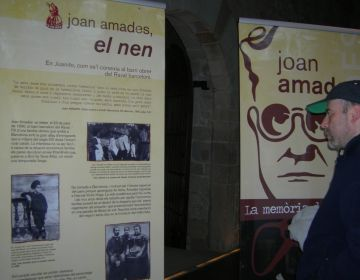 Sant Cugat recorda la figura de Joan Amades al Claustre del Monestir