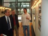 El director de l'ANV i el dubdirector d'Arxius de la Generalitat han inaugurat la mostra