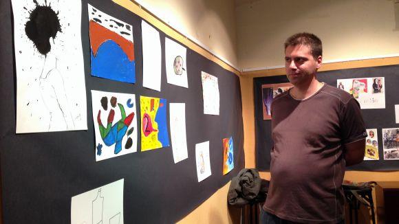 L'Ateneu acull l'exposició dels treballs de pintura dels usuaris de l'Espai de Lleure