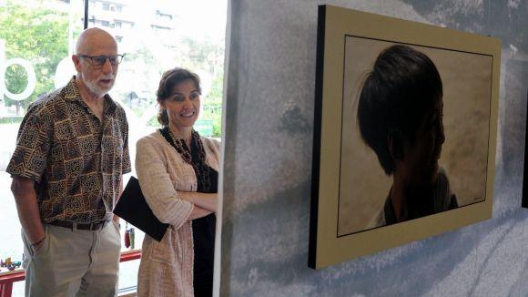 Carles Cabanas mostra el somriure dels infants asiàtics i africans