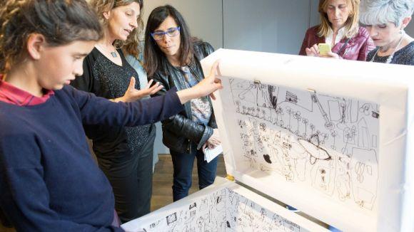 Els infants fan sentir la seva veu a través de l'art a l'exposició 'Emocionar-te'