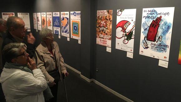 Una exposició posa de relleu l'evolució de la Festa de Tardor amb els 40 cartells de la fira d'entitats
