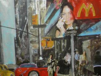 La Sala Rusiñol acosta els paisatges urbans de Nova York amb els darrers treballs de Fierro