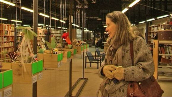 Artistes amb i sense discapacitat visual s'uneixen en una mostra a la Central