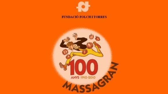La Fundació Folch i Torres celebra des de fa tres anys el centenari d'en Massagran / Font: Gencat.cat