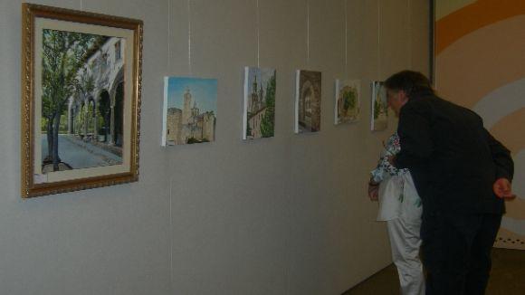 Pere Pahissa s'estrena com artista a Sant Cugat