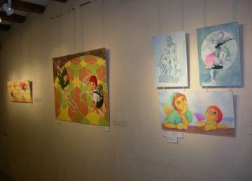 Pou d'Art dóna la benvinguda al Nadal amb una mostra col·lectiva d'artistes santcugatenques