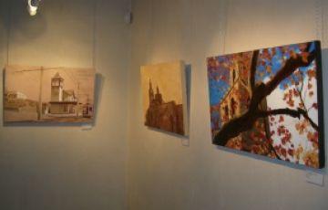 Pou d'Art exposa les peces del seu taller d'adults durant tota la setmana
