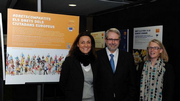 #dretscompartits, una mostra per retallar distàncies entre els ciutadans i la UE